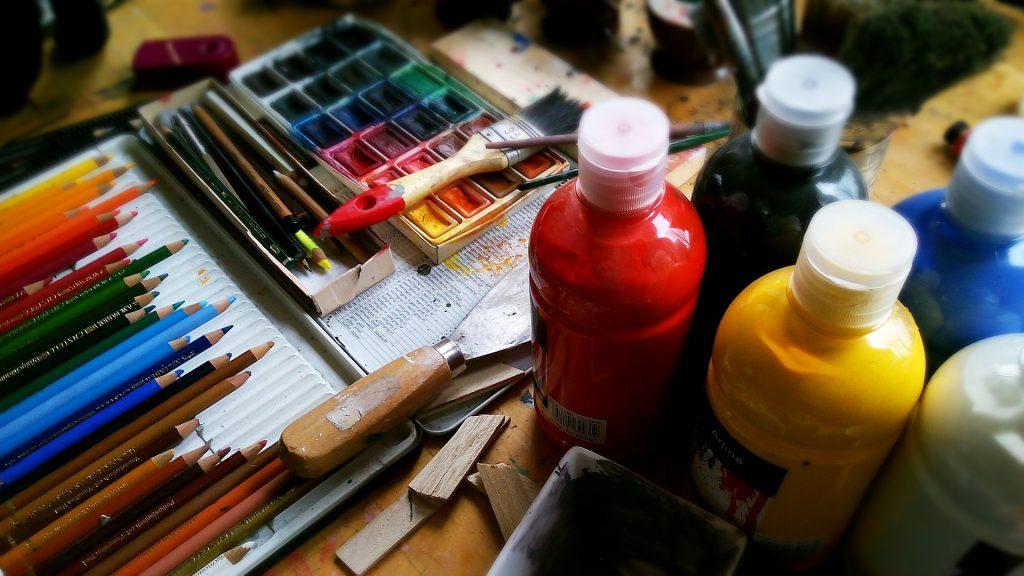 Fördelar med målning gentemot hjärnan och hälsan